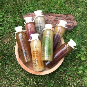 Tekuté šampóny